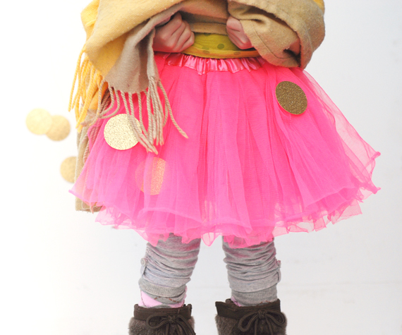 Confetti Dot Skirt