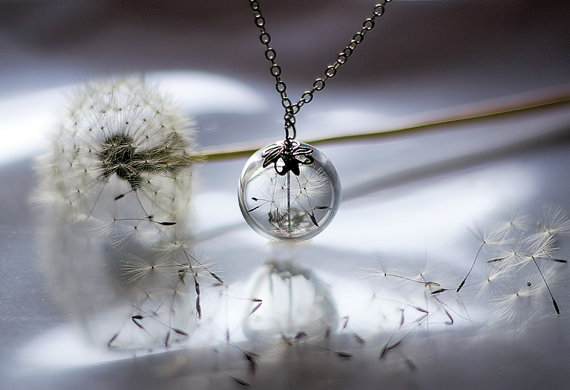 Dandelion Necklace 2