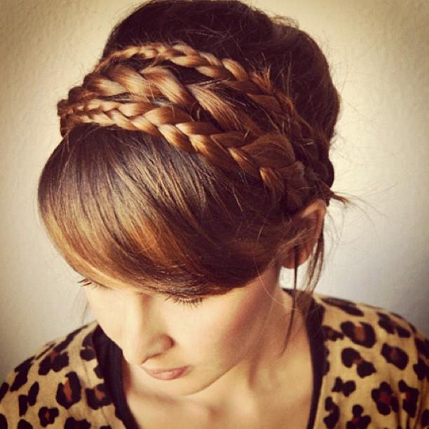 Headband-braid