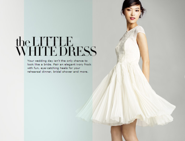 Nordstrom White Dress